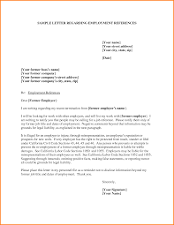 Reference Letter Employment Memo Templates From Employer Examples