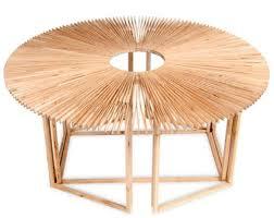 circular furniture. Unfolding Circular Furniture O