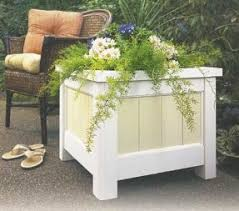 diy wood deck box. diy wooden planter box diy wood deck
