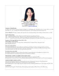 Resume Nursing Graduate Philippines Resume For Study