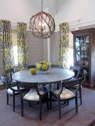 affordable glass door cabinet and beautiful orb chandelier with modern round chandeliers for dining room