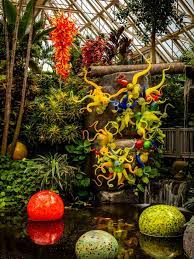 where to see dale chihuly glass art in