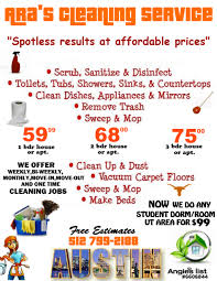 How To Price A House Cleaning Job 27 Images Of Home Cleaning Price Template Fodderchopper Com