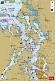 Puget Sound Northern Part Marine Chart Us18441_p1689