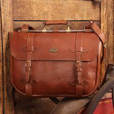 83 leather book bag american buffalo