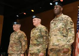 Dvids News Transition Underway For Army Materiel Command