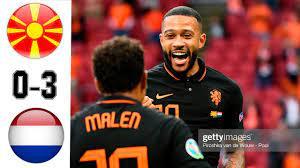 Macedonia del Nord vs Olanda 0-3 Highlights & Gol