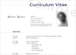 curriculum vitae is your cv good enough cover letter samples cv templates cv4youcom how to write a cv or resume