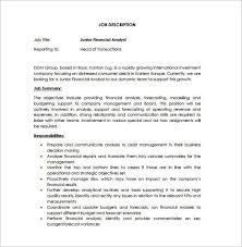 database analyst job description resume data analyst job