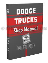 1951 1952 1953 dodge pickup truck cd rom repair shop manual related items