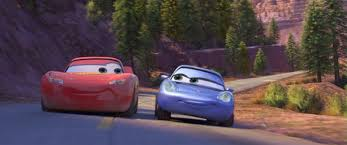 lightning mcqueen and mater and sally. Brilliant Mcqueen Sally Taking McQueen On A Drive To The Wheel Well Motel Throughout Lightning Mcqueen And Mater E
