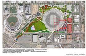 Stadium Planning Design Gallery Of San Diego Stadium Master Plan De Bartolo