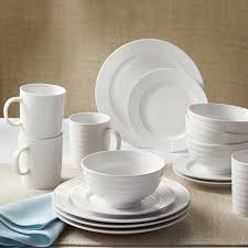 better homes and gardens anniston porcelain  piece dinnerware