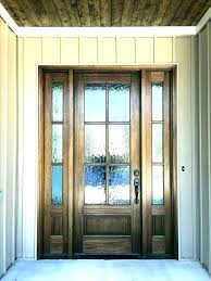 frosted glass exterior door front modern contemporary doors stained f