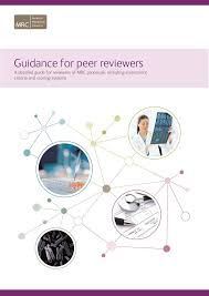 Guidance For Peer Reviewers