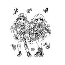 Ty Girlz Coloring Pages