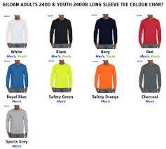 Gildan Ultra Cotton Long Sleeve Adult Kids T Shirt Hype