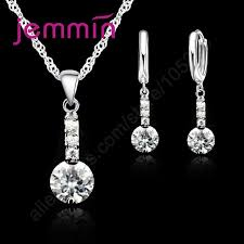 2019 jemmin precious modern luxury 925 sterling silver pendant necklace earrings jewelry for female gifts best quality from mantous 35 65 dhgate com