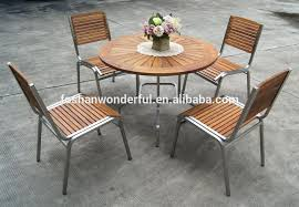 fresh stainless steel outdoor furniture for set