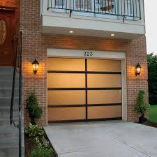 overhead glass garage door. Glass Door Aluminum Garage Doors Overhead Strut Modern E