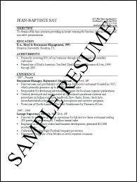 Basic Sample Resume Sample Resume Simple Job Resumes Template Basic ...