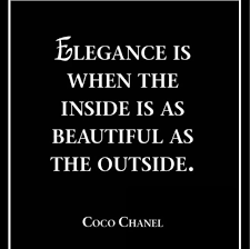 Beauty Is Not On The Outside Quotes Best Of Elegance Is When The Inside Is A Beautiful As The Outside Quotes