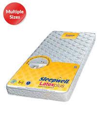 Sleepwell Latex Plus Mattress Buy Sleepwell Latex Plus