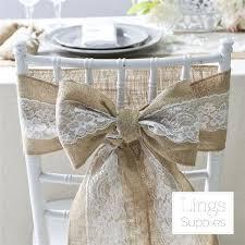 burlap tie suit the 25 best wedding chair sashes ideas on wedding chairswedding chair coverswedding chair sashesshabby chic