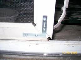 screen door corner brackets