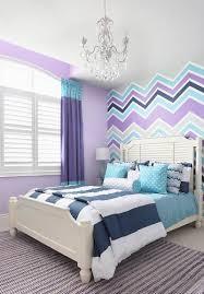 ... Gorgeous Girlsu0027 Bedroom In Violet, Aqua And Gray [Design: Royal  Interior Design