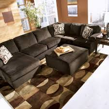 Sectional Living Room Buy Vista Chocolate Sectional Living Room Set By Millennium From