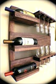wine glass holder shelf wine and glass holder wine glass holder shelf hanging wine glass holder