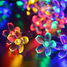 indoor and outdoor use 50 led multi color zoom