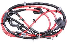 new trunk battery cable wiring harness 09 12 vw passat cc 3 6 b6 battery wiring harness at Battery Wiring Harness