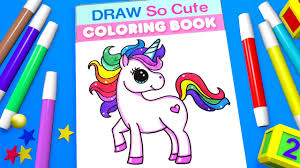 Small Picture Unicorn Coloring Pages for Kids Learn Color YouTube
