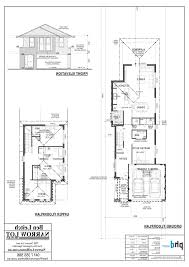 old 2 story house plans narrow smart design ideas narrow lot house plans perth homes