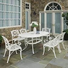 white patio dining sets patio