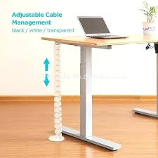 office desk cable management office desk with cable management f