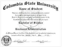 Diploma Wording Deluxe