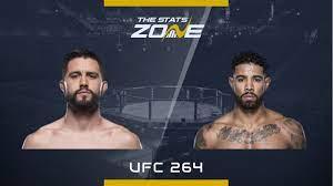 Carlos Condit vs Max Griffin at UFC 264 ...