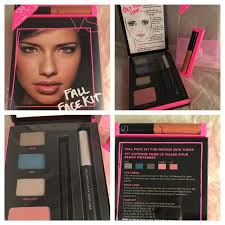 vs fall face kit um tones eyeshadow blush set