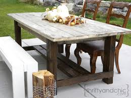 easy diy outdoor dining table. excellent dining room outdoor farmhouse table throughout 25 best ideas about within ordinary easy diy