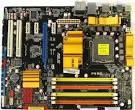 б\в МАтеринська плата ASUS P5QC I (P45 / ICH10, s775, FSB1600/1333/1066/800 , 4DDRII1200-800MHz\ ddr3, PCI-E2.0x16 - 1, PCI-Ex1 - 2,  3xPCI, 6xSATAII, 1xATA, SB8Ch, 12USB2.0, LAN1000) ATX