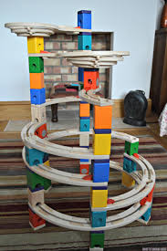 we built this version of the marble run but there are loads of tracks you can