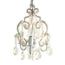 chandeliers tadpoles 3 light white diamond mini chandelier cchapl010 the home depot distressed white mini