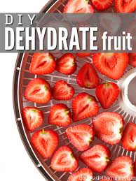 How To Dehydrate Fruit Grapes Bananas Blueberries