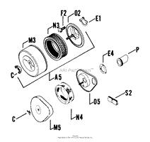 kohler k241 46678 john deere 10 hp 7 5 kw specs 4600 46858 parts air intake cont 1 8 17 tp 404 c