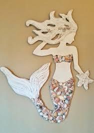 project ideas mermaid wall hanging home design wooden v sanctuary com 6 art new wood vertical