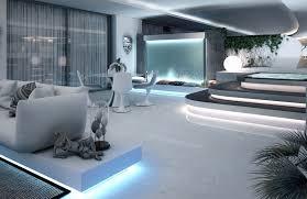 Woonkamer Moderne Loft Interieur Slaapkamer Of Met Eclectische