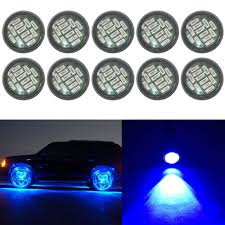 Blue Reverse Lights Details About 10x 15w Blue Eagle Eye Led Rock Drl Daytime Reverse Backup Parking Signal Light